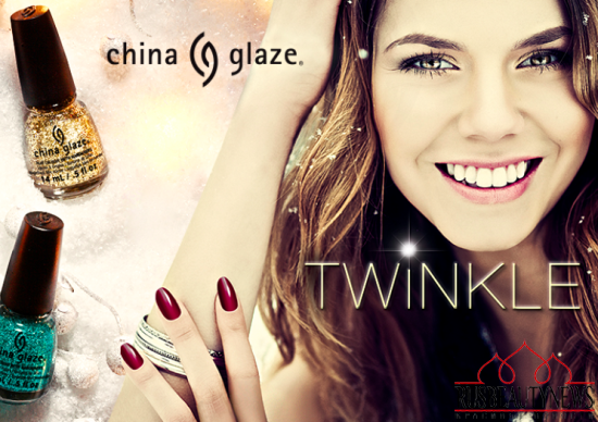 China Glaze Twinkle Holiday 2014 Collection