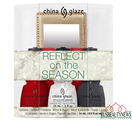 China Glaze Twinkle Holiday 2014 Collection set 3