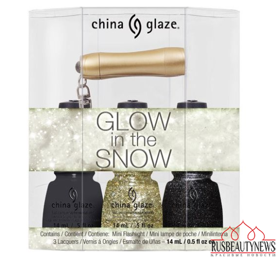 China Glaze Twinkle Holiday 2014 Collection set1