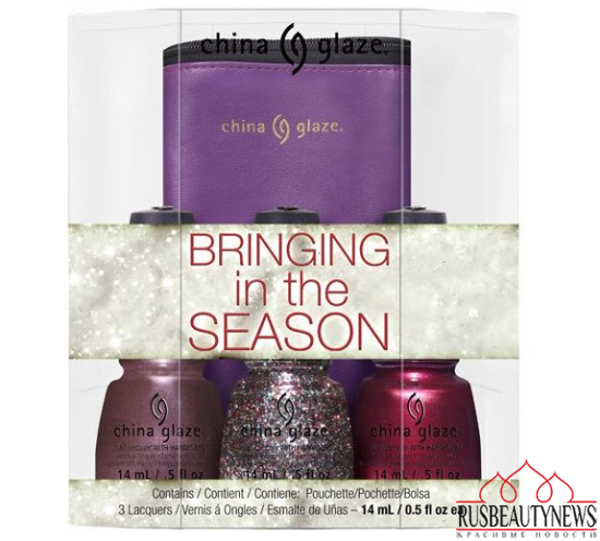 China Glaze Twinkle Holiday 2014 Collection set2