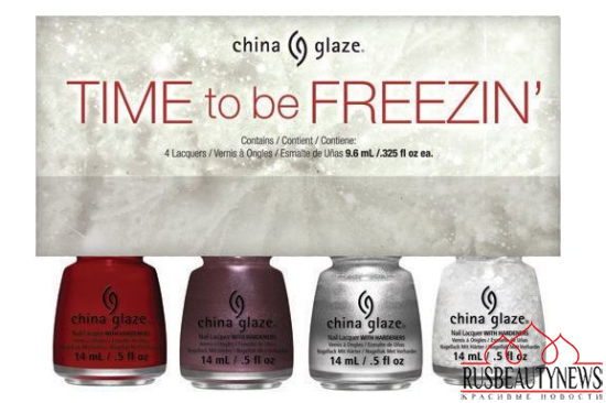 China Glaze Twinkle Holiday 2014 Collection set4