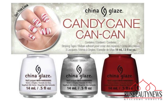 China Glaze Twinkle Holiday 2014 Collection set6