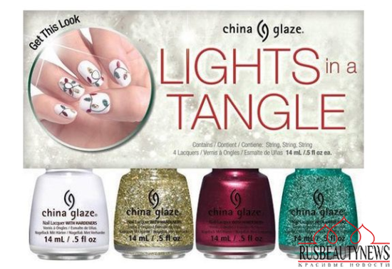 China Glaze Twinkle Holiday 2014 Collection set8