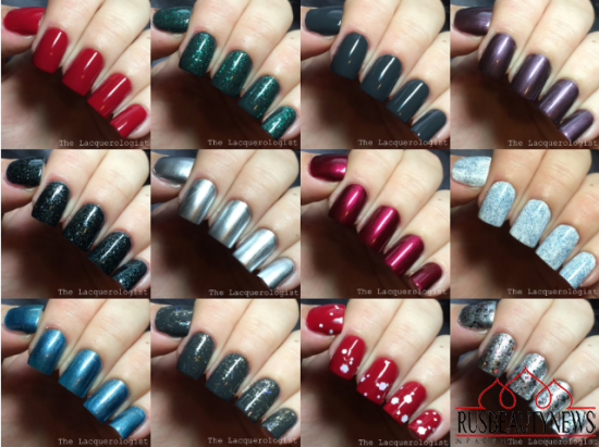 China Glaze Twinkle Holiday 2014 Collection sw