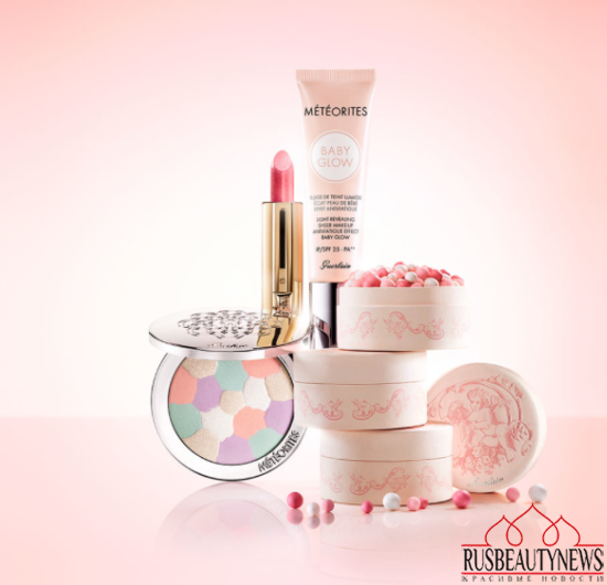 Guerlain Les Tendres Spring 2015 Makeup Collection look2