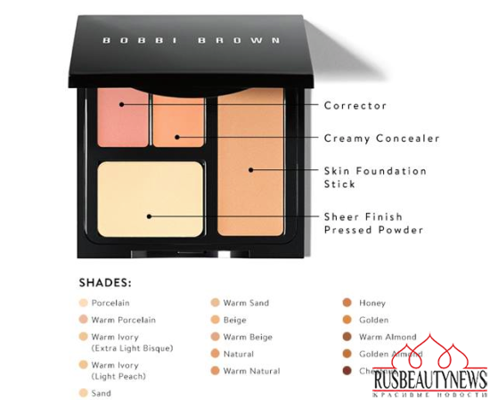 Bobbi Brown Face Touch Up Palette for Spring 2015 look2