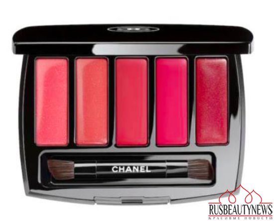 Chanel Pearl Whitening Spring 2015 Collection lipp palette