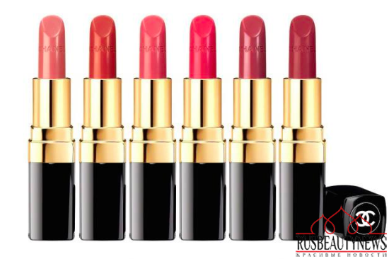 Chanel Reformulated Rouge Coco for Spring 2015 look1