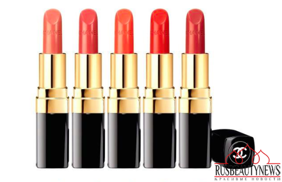 Chanel Reformulated Rouge Coco for Spring 2015 look2