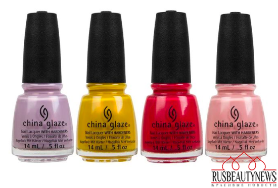 China Glaze Road Trip Spring 2015 Collection color1