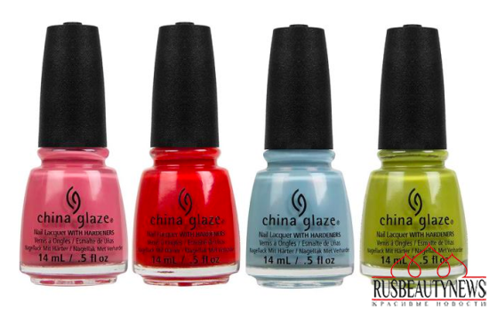 China Glaze Road Trip Spring 2015 Collection color3