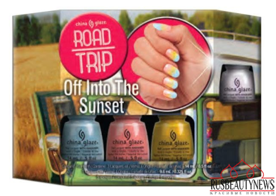 China Glaze Road Trip Spring 2015 Collection set1