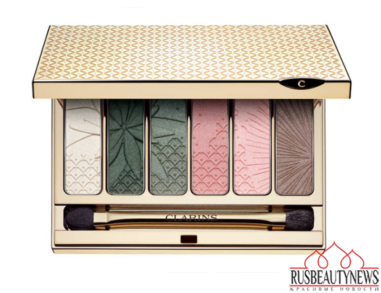 Clarins Garden Escape Makeup Collection for Spring 2015eyeshadow