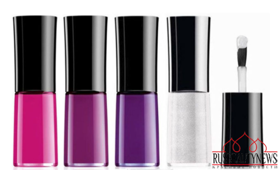 Giorgio Armani Fuchsia Maharajah Collection for Spring 2015 nail