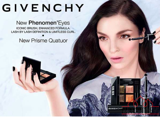 Givenchy Phenomen Eyes and Prisme Quatuor Spring 2015 look