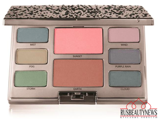 Laura Mercier Watercolour Clouds Spring 2015 Collection palette