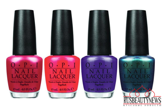 OPI Hawaii Collection Spring-Summer 2015 color1