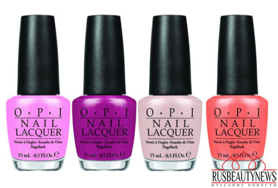 OPI Hawaii Collection Spring-Summer 2015 color2