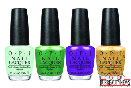 OPI Hawaii Collection Spring-Summer 2015 color3