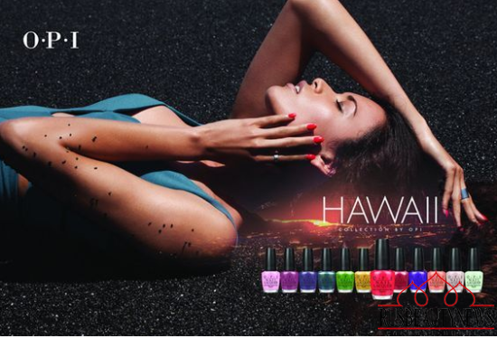 OPI Hawaii Collection Spring-Summer 2015 look1