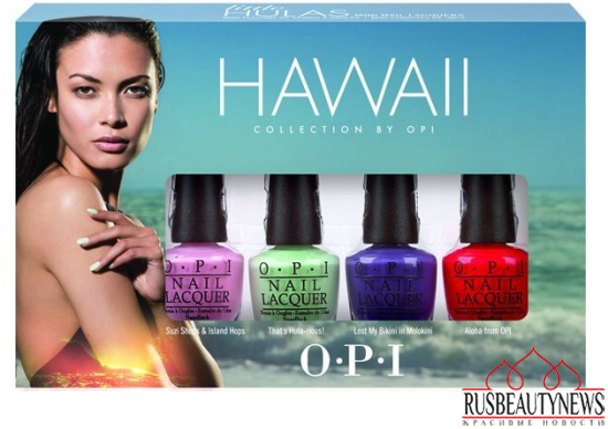 OPI Hawaii Collection Spring-Summer 2015 set