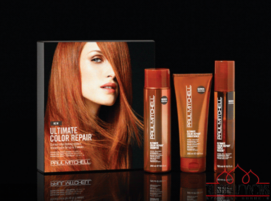 Paul Mitchell The Ultimate Color Repair look