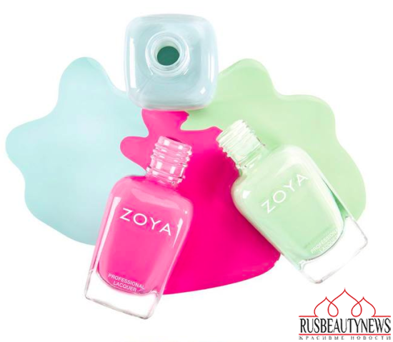 Zoya Delight Spring 2015 Collection look1