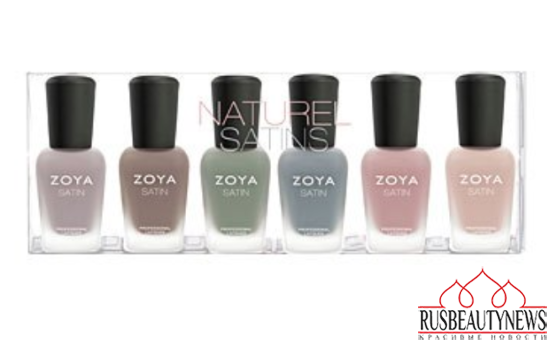 Zoya Naturel Satins Collection Spring 2015 look3