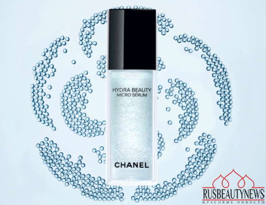Chanel Hydra Beauty Micro Serum  look1