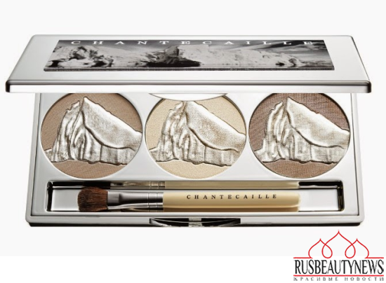 Chantecaille Spring 2015 Makeup Collection eye palette look