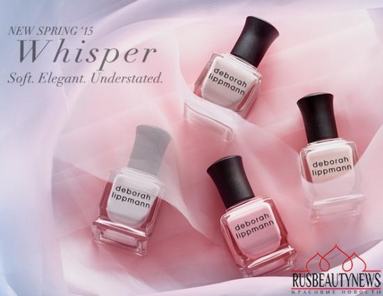 Deborah Lippmann Whisper for Spring 2015 look