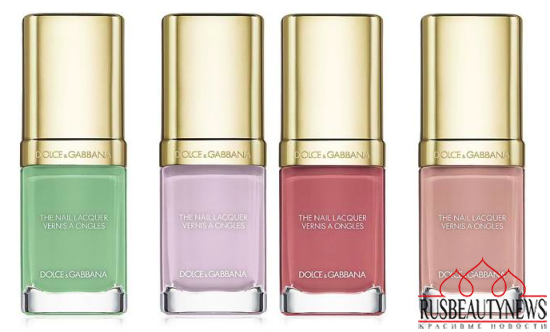 Dolce & Gabbana Nail Lacquer Collection for Spring 2015 1