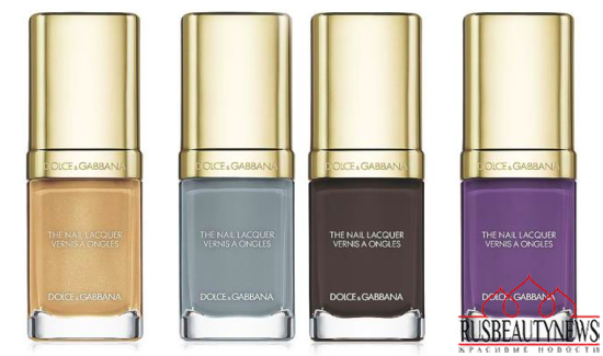 Dolce & Gabbana Nail Lacquer Collection for Spring 2015 3