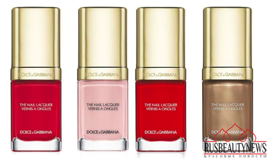 Dolce & Gabbana Nail Lacquer Collection for Spring 2015 4