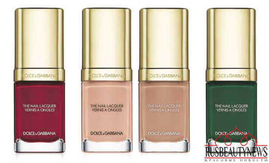 Dolce & Gabbana Nail Lacquer Collection for Spring 2015 6