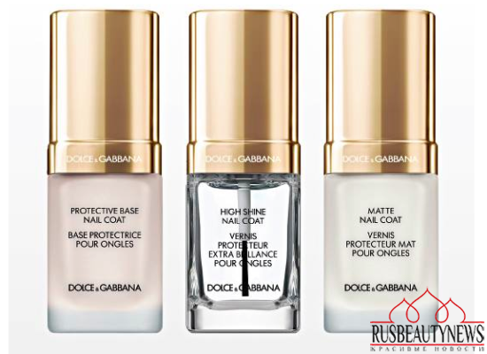 Dolce & Gabbana Nail Lacquer Collection for Spring 2015 base