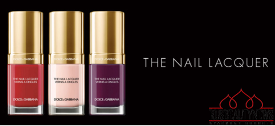 Dolce & Gabbana Nail Lacquer Collection for Spring 2015 look1