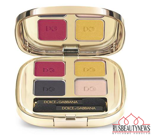 Dolce & Gabbana Spring 2015 Makeup Collection eyepalette1