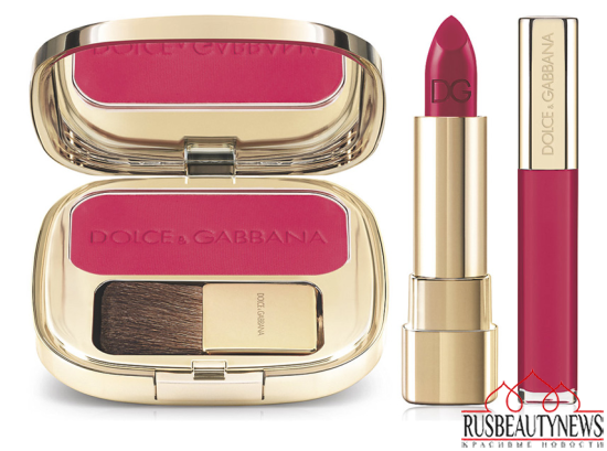 Dolce & Gabbana Spring 2015 Makeup Collection look2