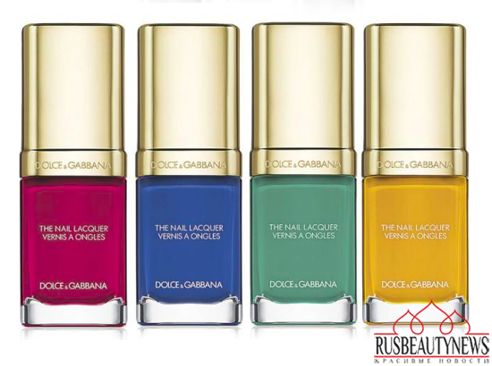 Dolce & Gabbana Spring 2015 Makeup Collection nail