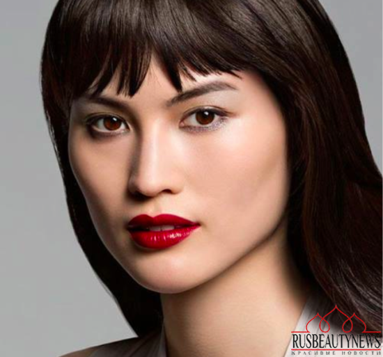 Shiseido Spring 2015 Makeup Collection look
