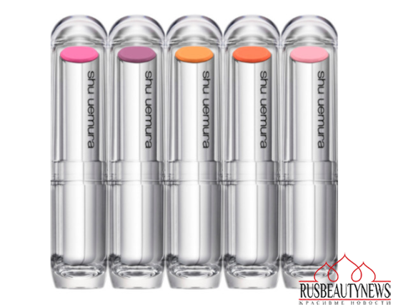Shu Uemura Metallic Bouquet Spring Summer 2015 Collection lipp