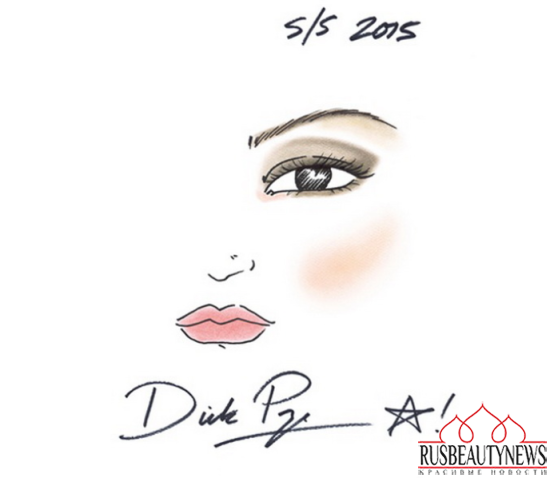 Spring 2015 Makeup Collection look1