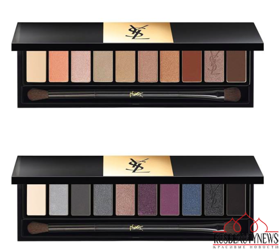 YSL Couture Variation Ten-Color Expert Eye Palettes for Spring 2015