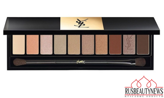 YSL Couture Variation Ten-Color Expert Eye Palettes for Spring 2015 beige