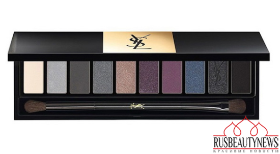 YSL Couture Variation Ten-Color Expert Eye Palettes for Spring 2015 purple