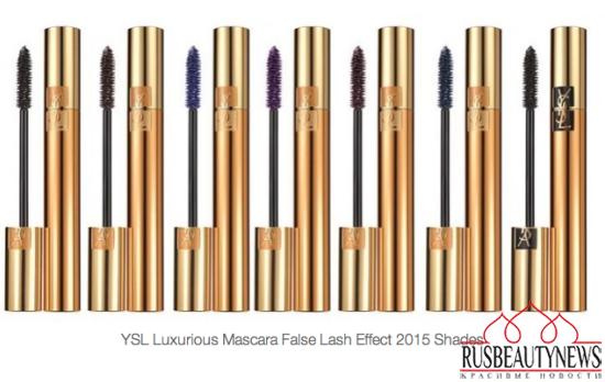 YSL Volume Effet Faux Cils Mascara 2015 look3