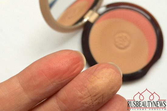 Guerlain Terracotta Joli Teint Natural Healthy Glow Powder Duo swatches