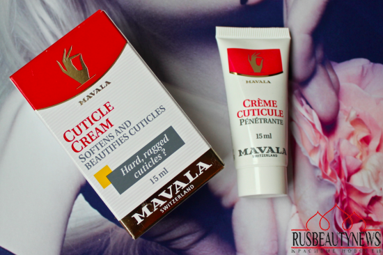 Mavala- Cuticle Cream отзыв