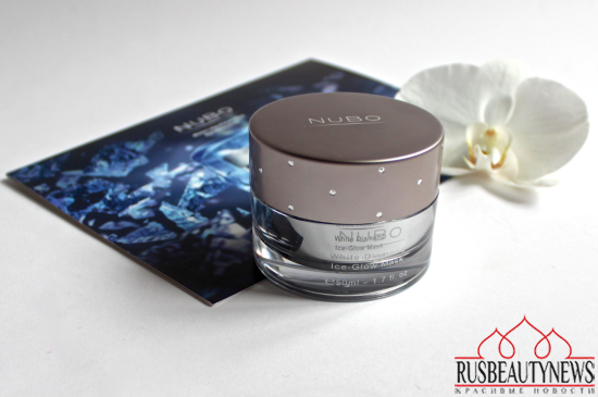 NuBo White Diamond Ice-Glow Mask look1